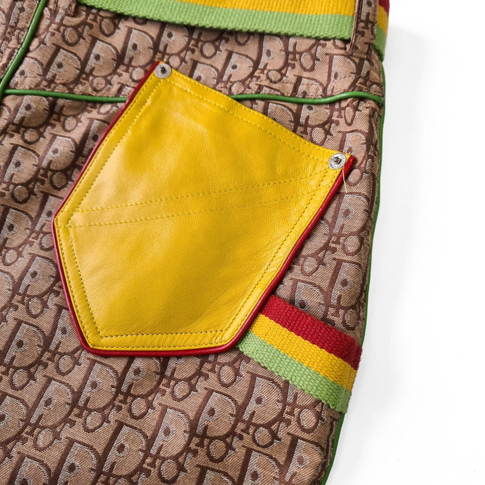Image of Christian Dior Rasta Skirt
