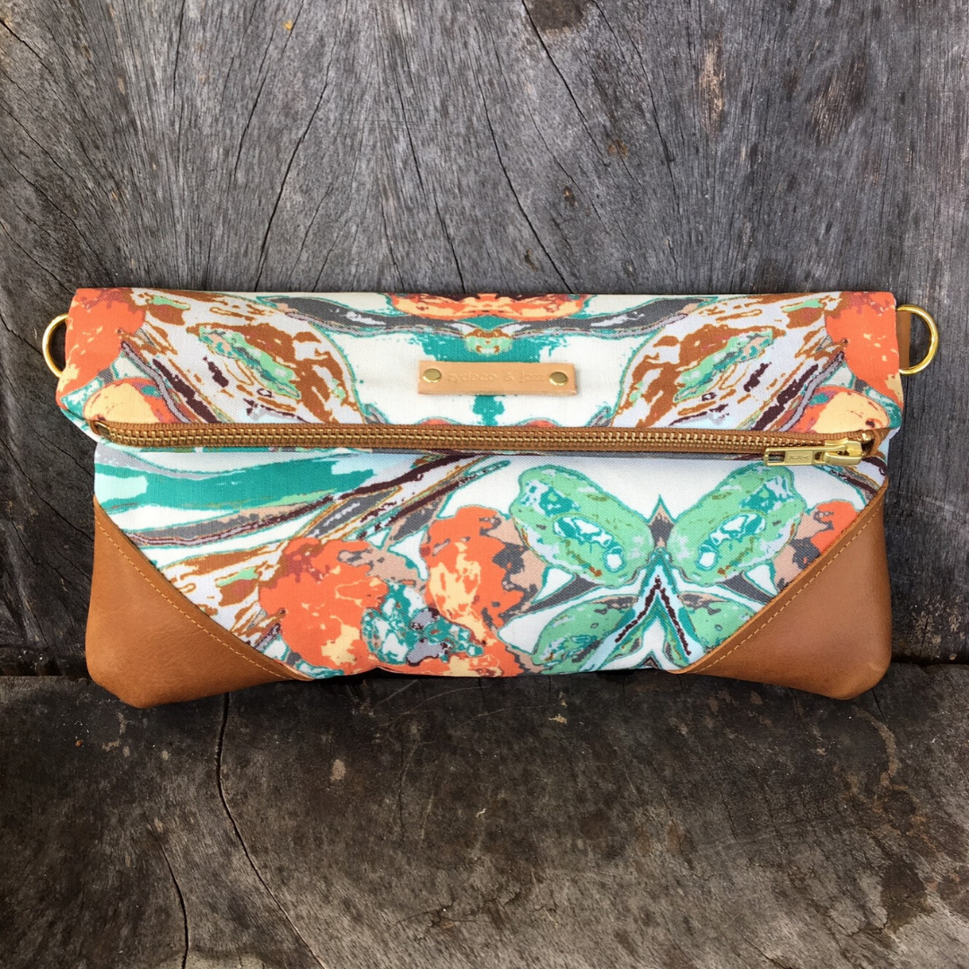 Image of Shelbie Clutch Teal