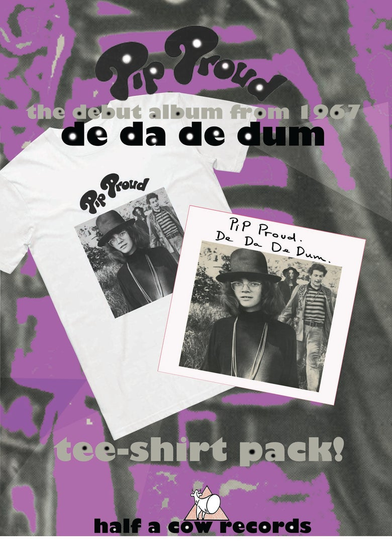 Image of PIP PROUD :: De Da De Dum Tee-shirt PACK!