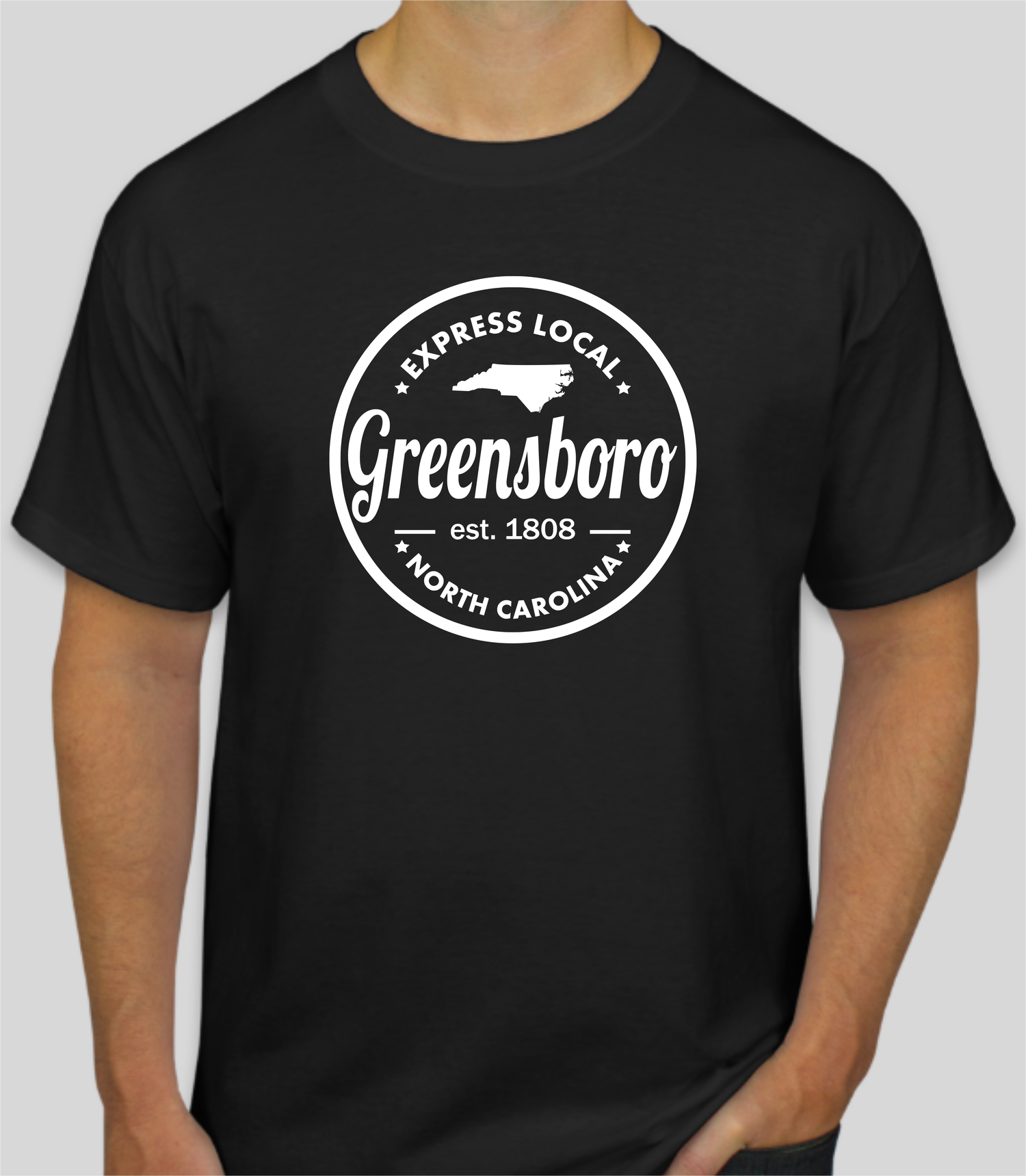 Image of Classic Greensboro Express Local Seal