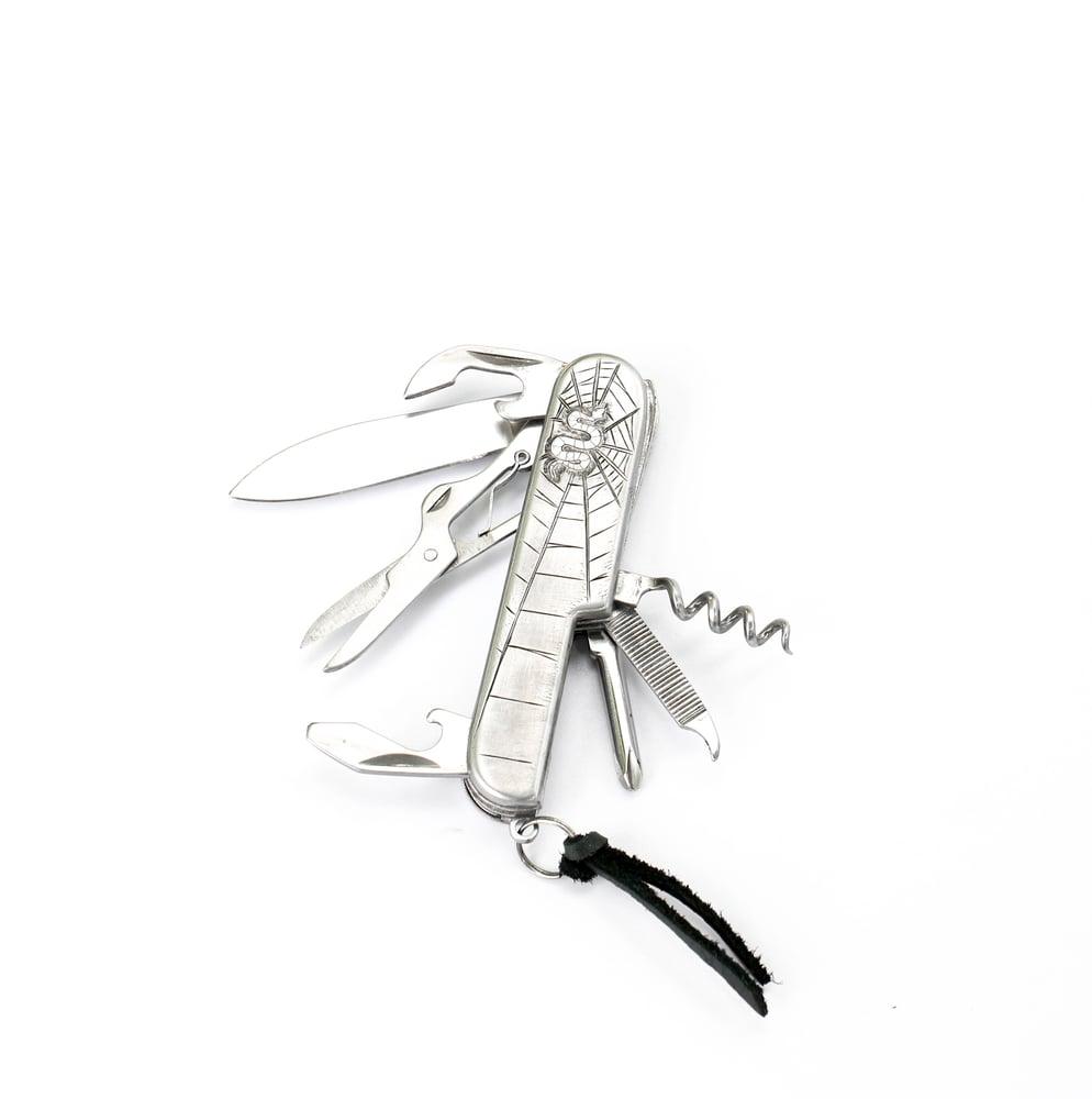 Image of Hand Engraved pocket Knife / Multi Tool