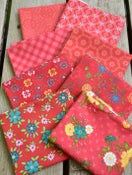 Image of Shades of Summer Red Fat Quarter Pack