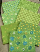 Image of Shades of Summer Green Fat Quarter Pack