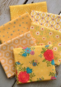 Image of Shades of Summer Yellow Fat Quarter Pack