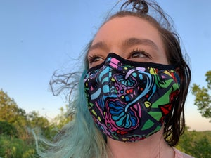 KKitchenart - Crystal Strains Mask