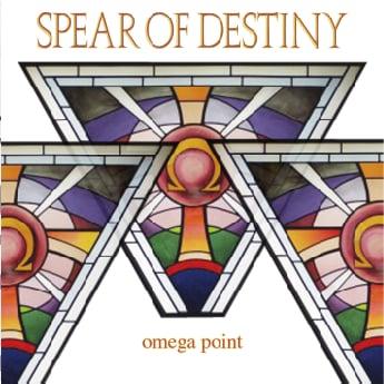 SPEAR OF DESTINY STUDIO ALBUM : 'Omega Point' CD
