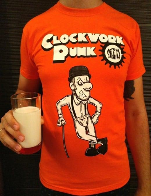 Image of Clockwork Punk t-shirt