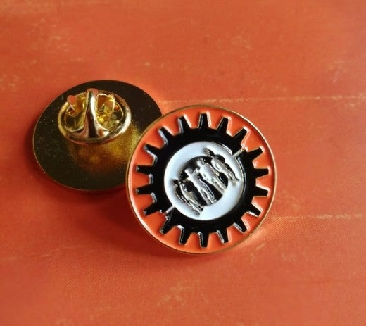 Image of Clockwork Punk metal pin