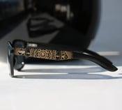 Image of Maia Bamboo Black Sunglasses