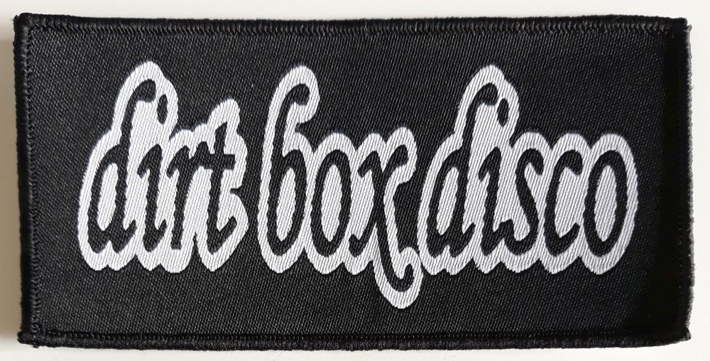 Image of WOVEN PATCH - B/W LOGO