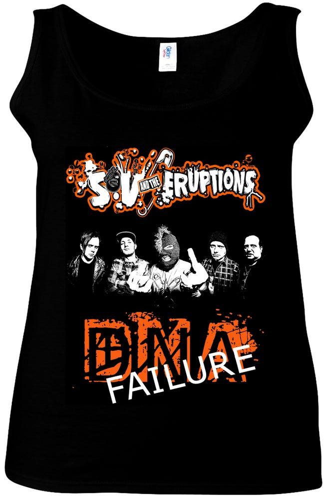 Image of DNA FAILURE - LADIES VEST