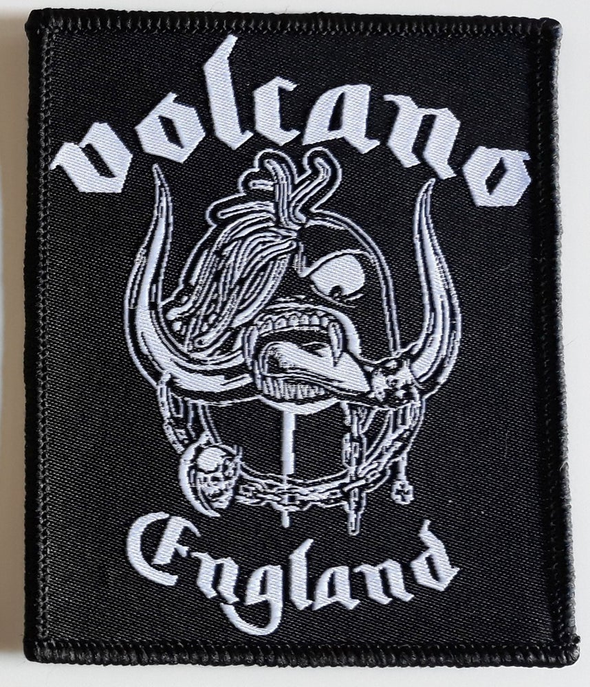 Image of WOVEN PATCH - VOLCANO ENGLAND