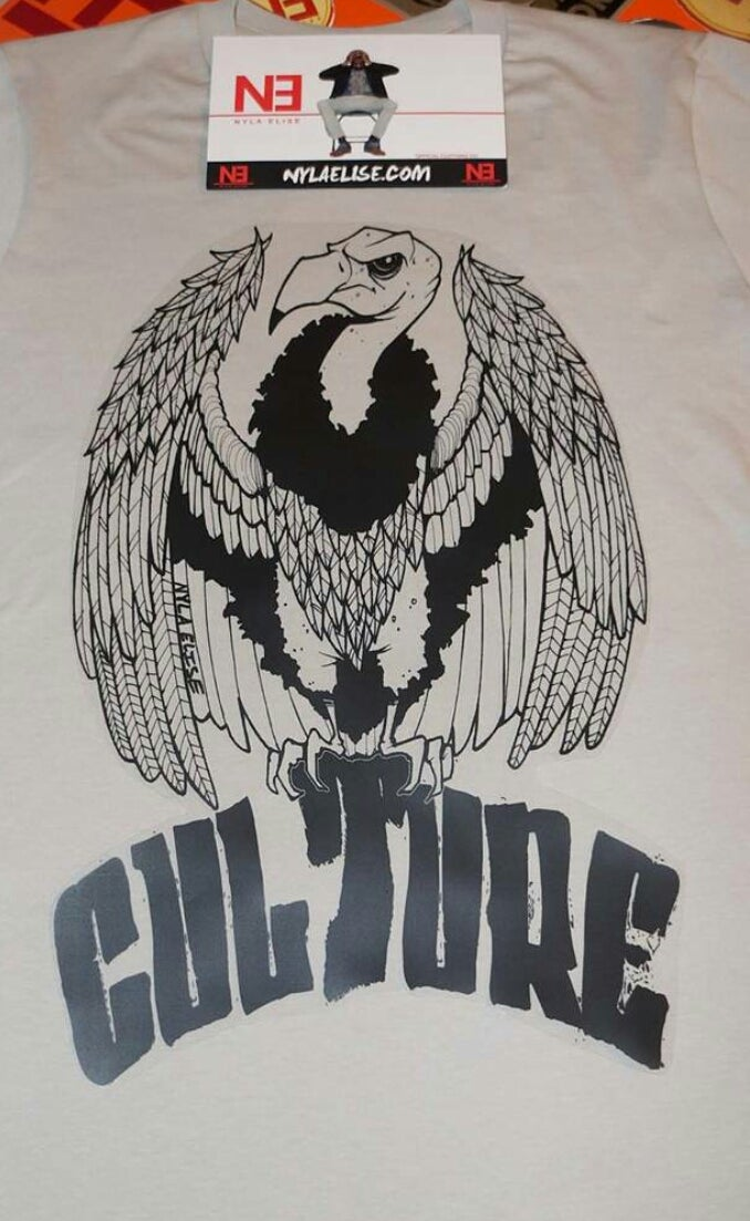Image of Culture Vulture (Gray)