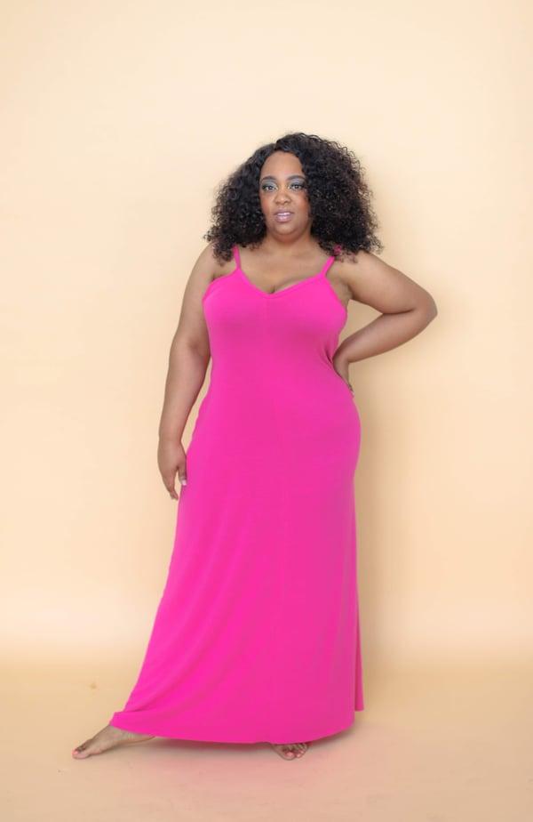 Image of Curvy Hautie Haute Pink