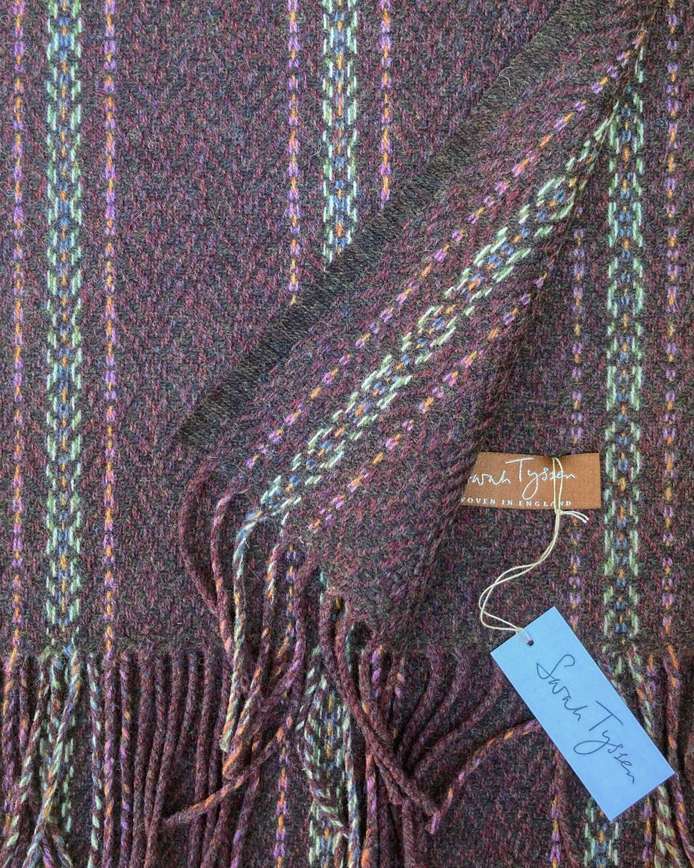Image of Berry & Peat 'Gatsby' scarf