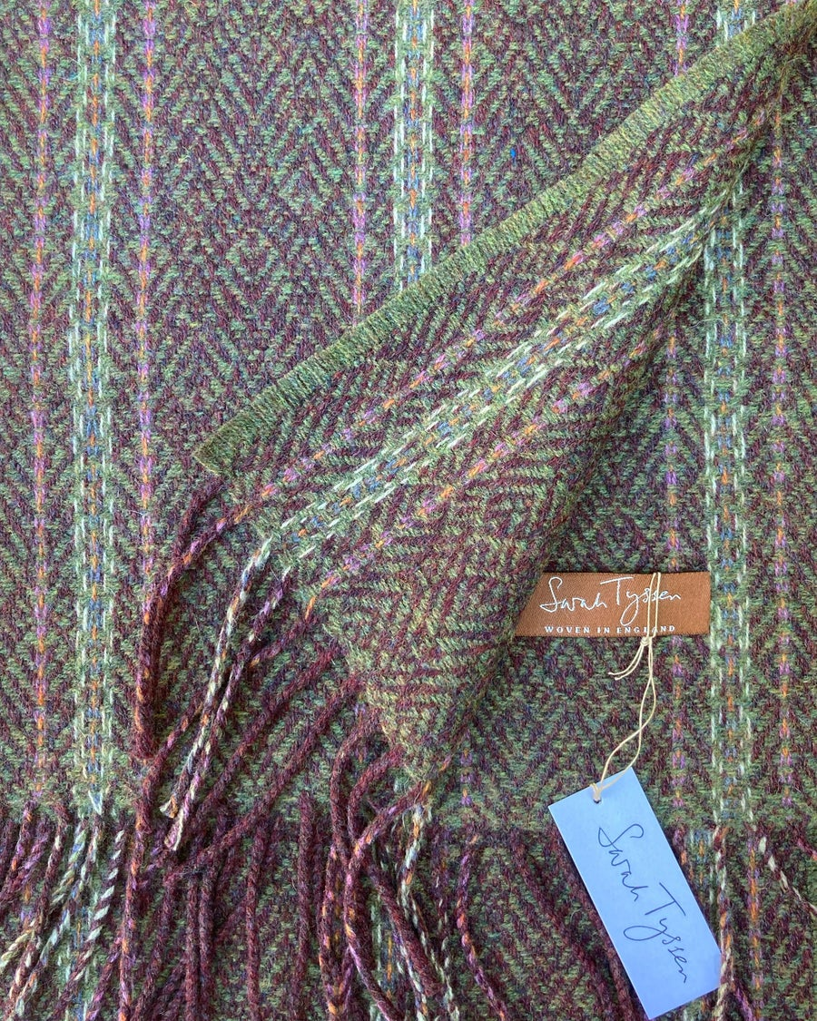 Image of Berry & Moss 'Gatsby' scarf