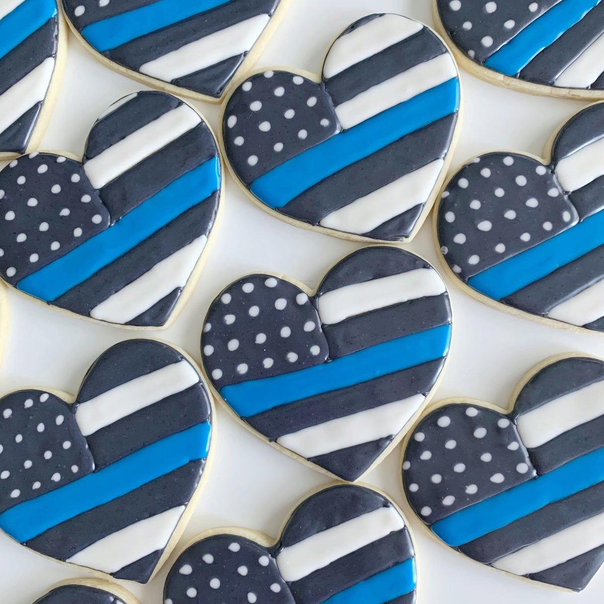 Blue Line Cookie Sets