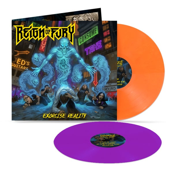 "Image of ""Exorcise Reality"" Ltd Edition Double Vinyl ***pre-order***"