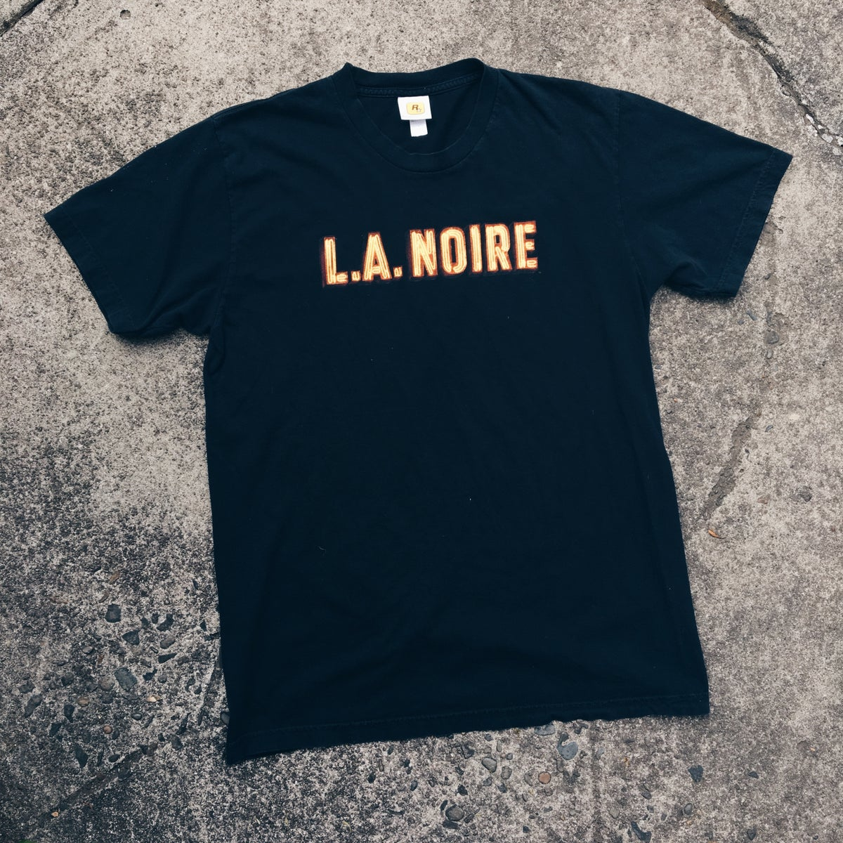 Image of Original 2011 Rockstar Games L.A. Noire Promo Tee.