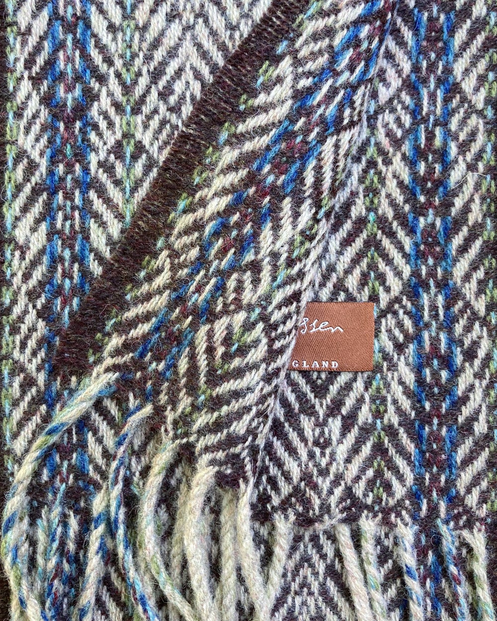 Image of Narrow Catkin & Peat 'Gatsby' scarf