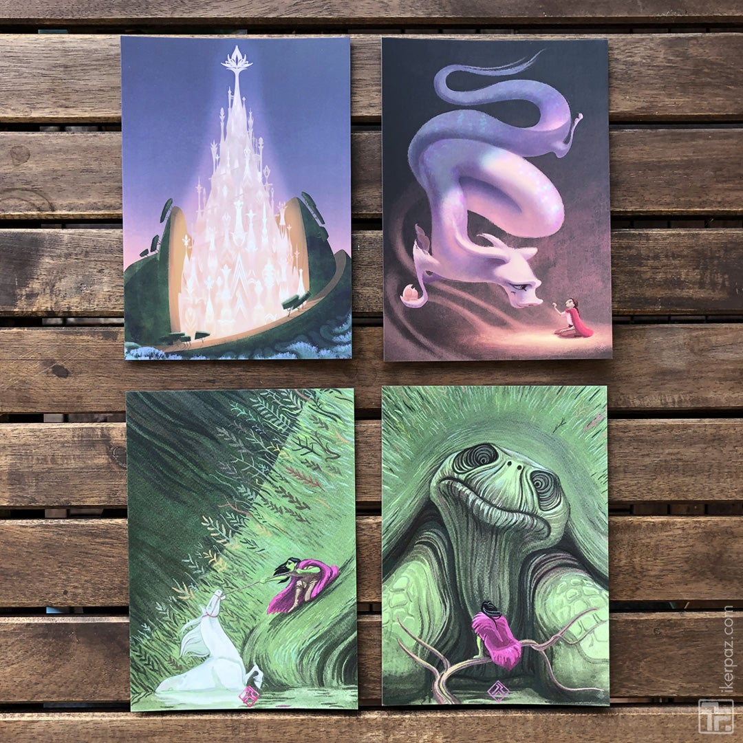 Neverending Story - Postcard Set