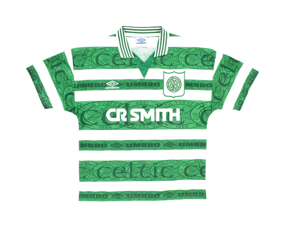 Image of 1995-97 Umbro Celtic Home Shirt M