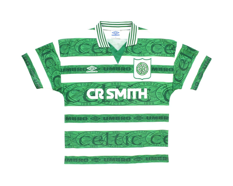 Image of 1995-97 Umbro Celtic Home Shirt M