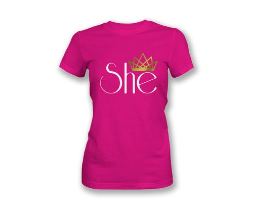 Image of She T Shirt