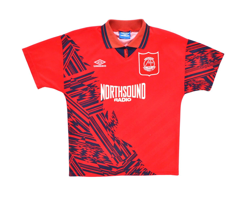 Image of 1994-96 Umbro Aberdeen Home Shirt M