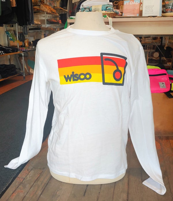 Image of Wisco Old Fashioned Long Sleeve Unisex Tee