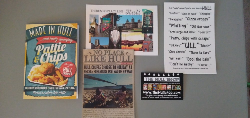 Image of Hull Postcards Selection