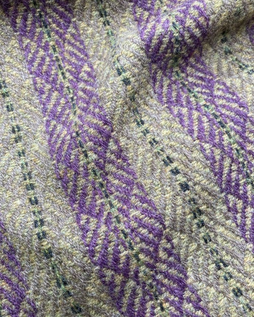 Image of Wisteria & Sand 'Chrysler' scarf