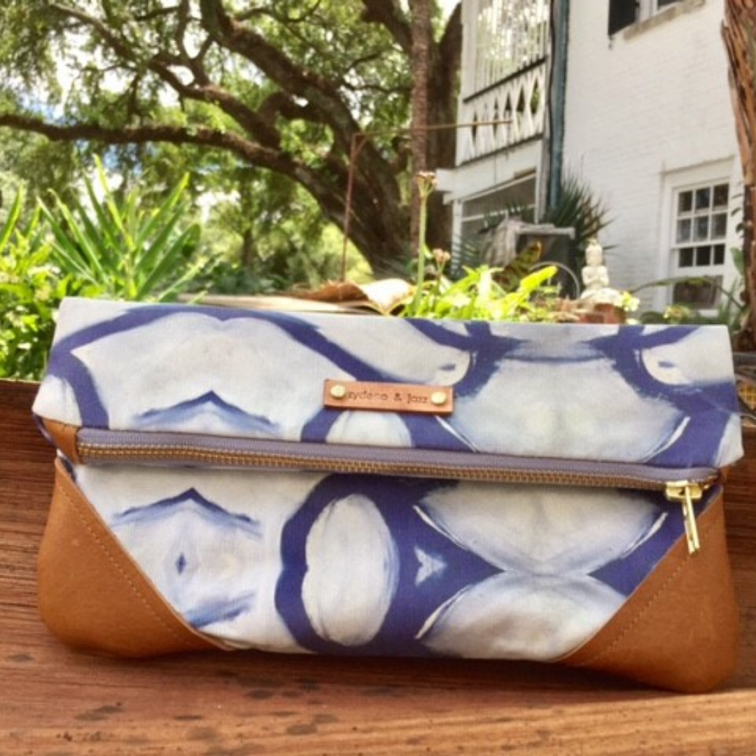 Image of Beth Clutch in Blue
