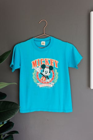 Image of Vintage Mickey Mouse California Disney Shirt