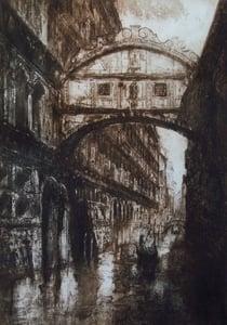 Image of Bridge of Sighs, Venice, Italy