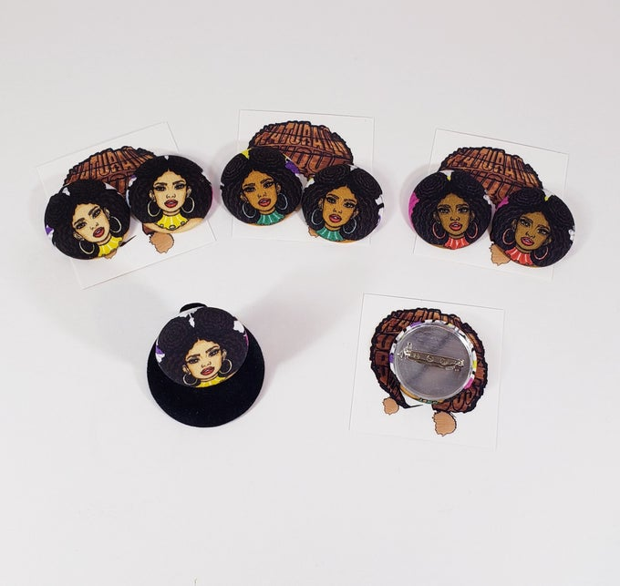 Image of Melanin Button Accessories