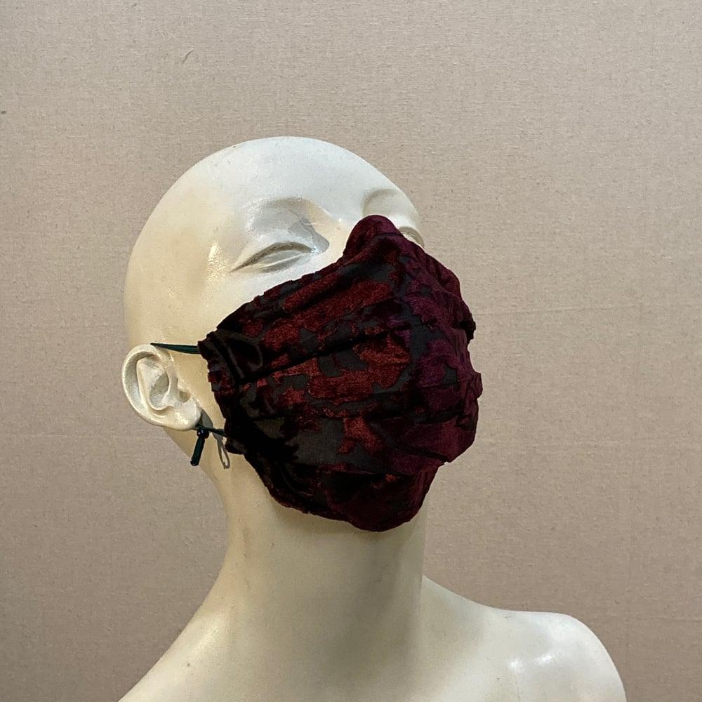 Image of Silk Velvet  Mask: Wine