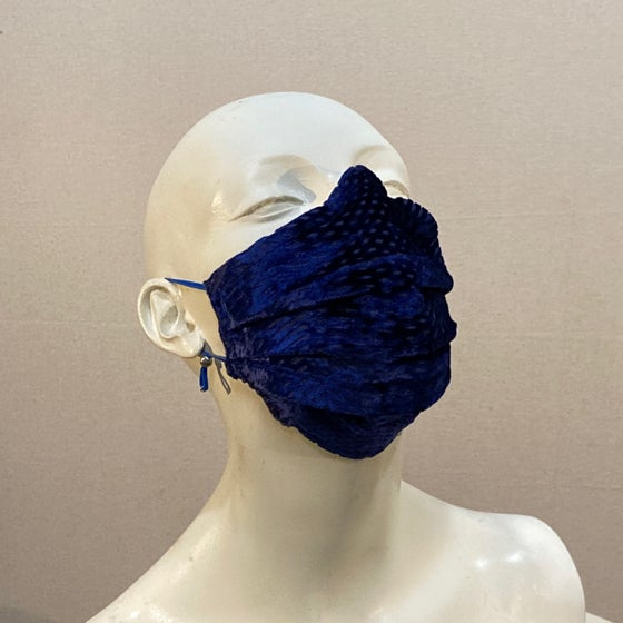 Image of Silk Velvet  Mask: Royal