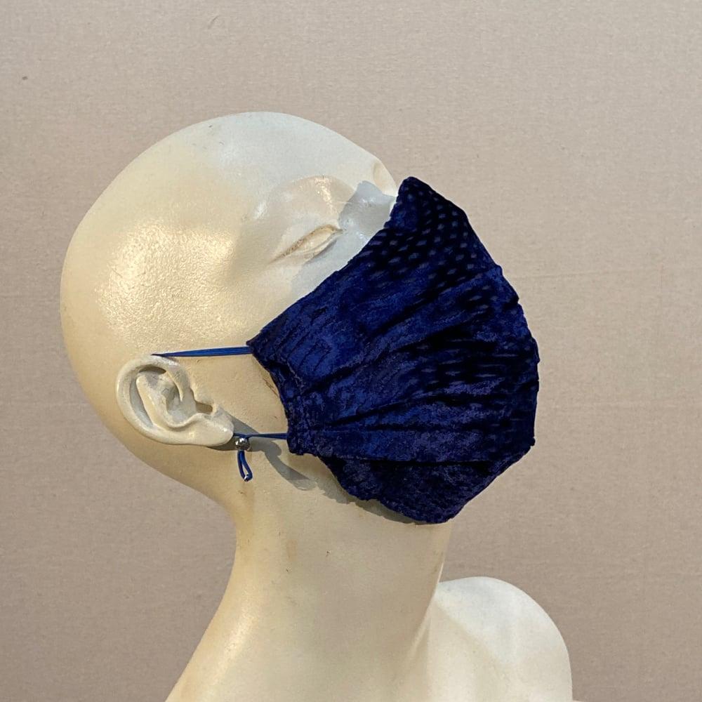 Image of Silk Velvet  Mask: Royal