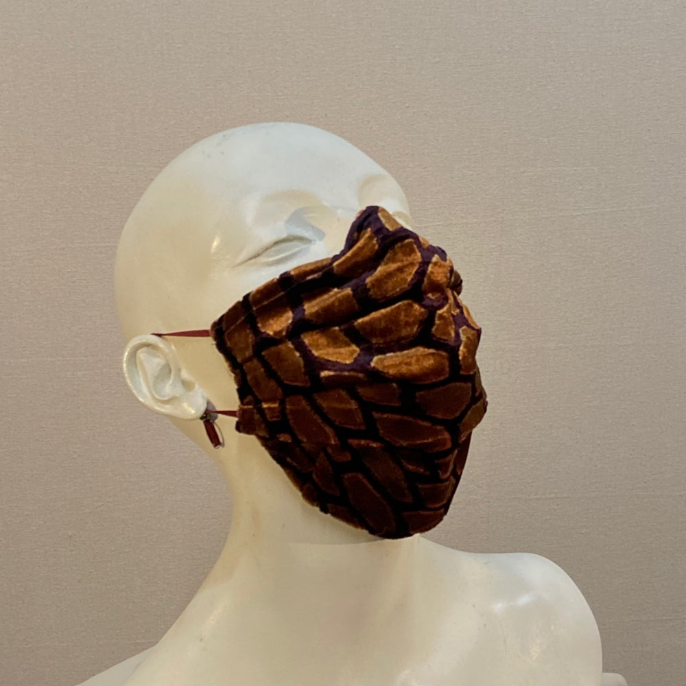 Image of Silk Velvet  Mask: Autumn