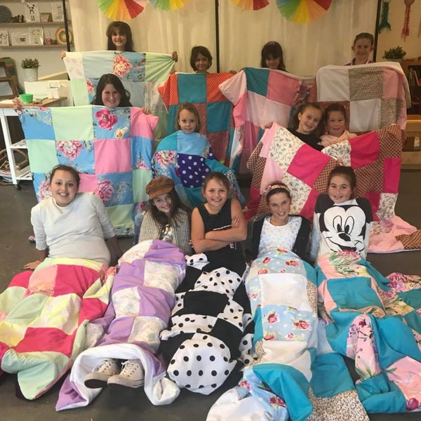 Image of Patchwork Blanket - Full Day - Thursday 16th July