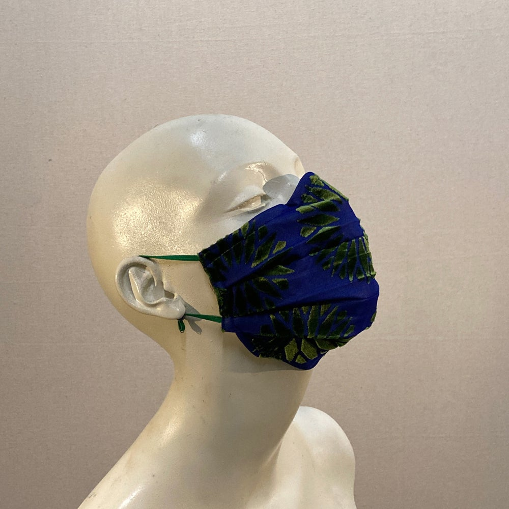 Image of Silk Velvet  Mask: Deco Flowers