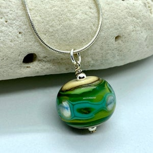 Image of Keele River Bobble Necklace (without crystal)
