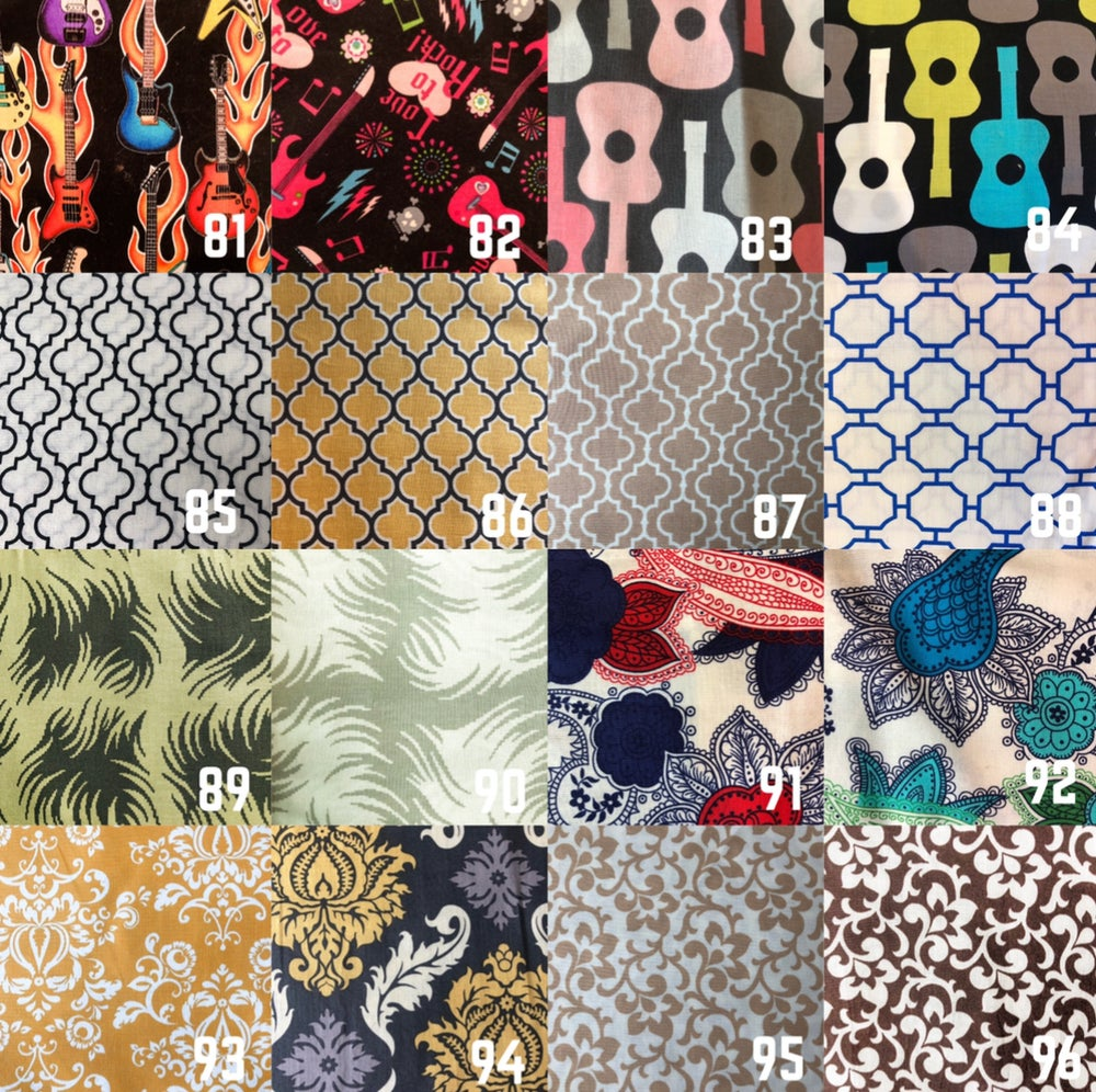 Image of Made to Order Fabric Masks (Fabrics 65-112)