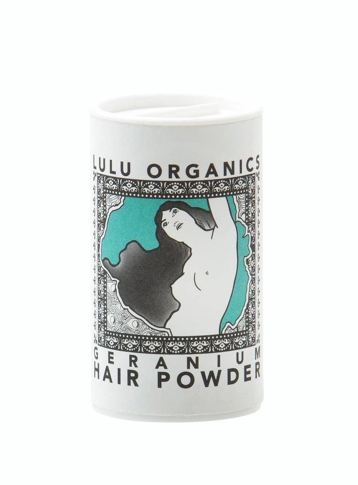Image of Lulu Organics Dry Shampoo - Geranium