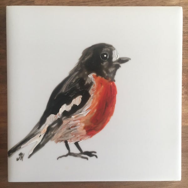 Image of Scarlet Robin Coasters
