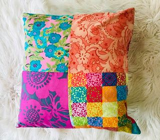 Image of Retro Nanna Colourful Boho Pillow