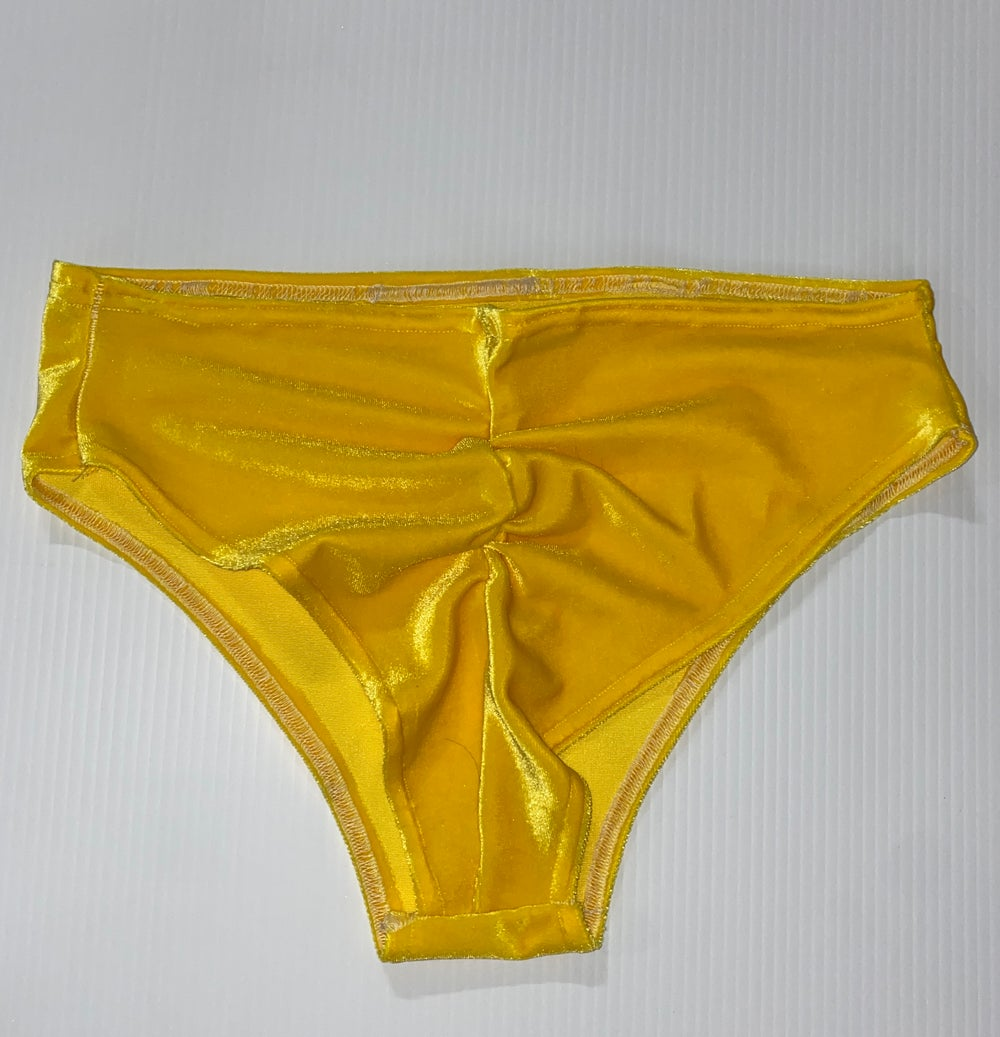 Yummy Yellow Mid-rise Bottoms ONLY