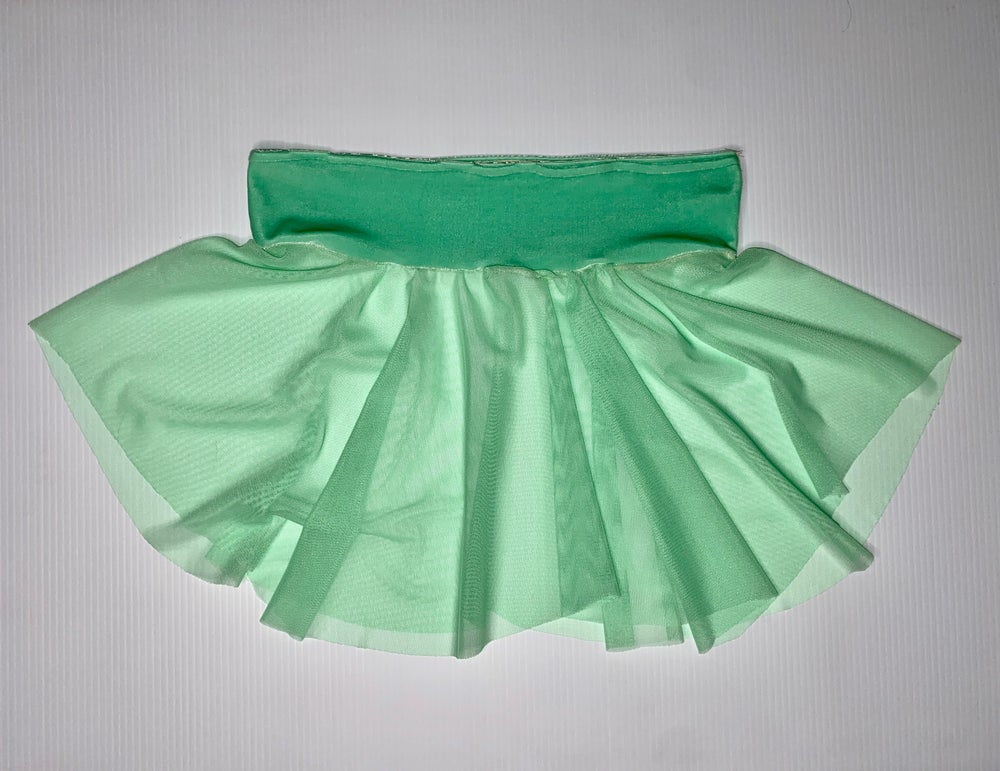 Majestic Mint Skater Skirt