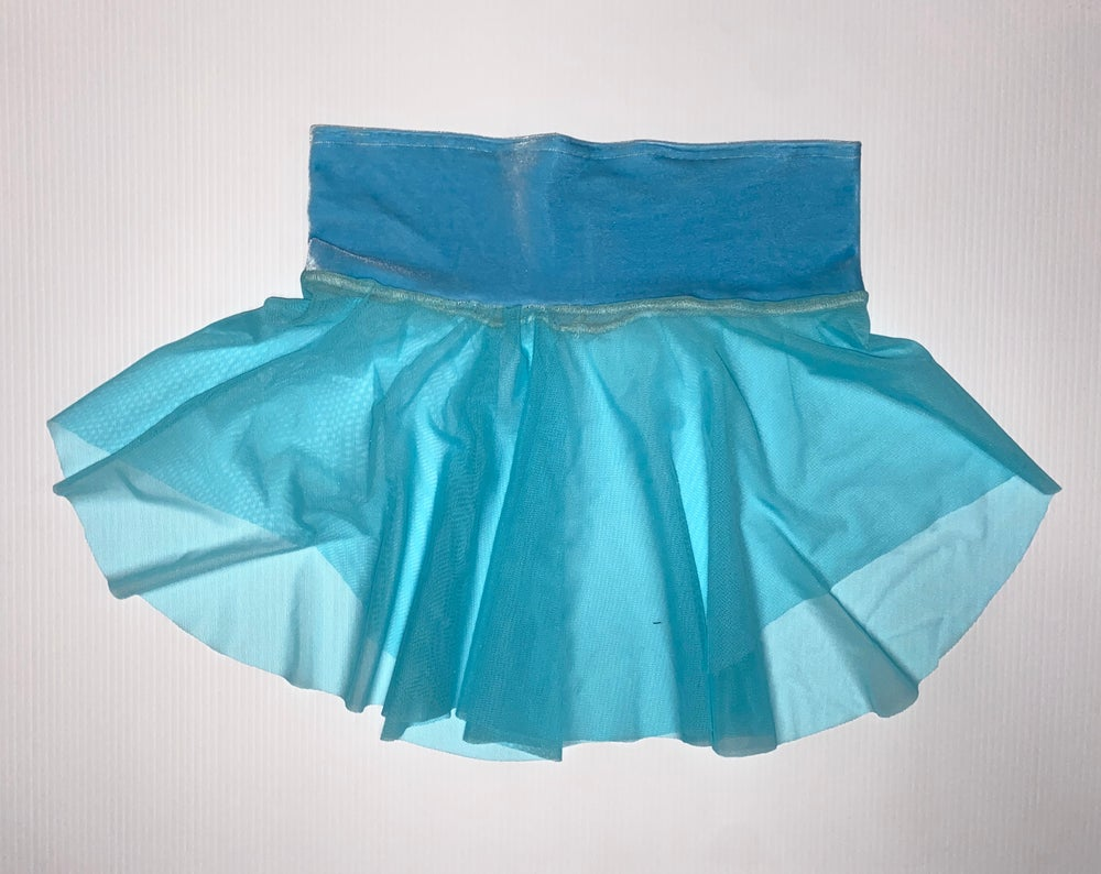Blissfully Blue Skater Skirt